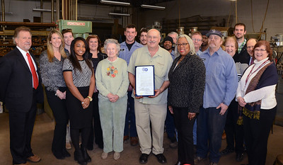 City celebrates 100-year anniversary with Corbett-Steeves Pattern Works, Inc. 3/9/2015