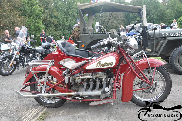 V8 Mentalists summer Party Bikes