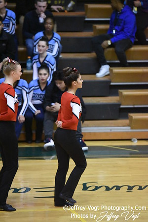 12-17-2016 Montgomery Blair HS Poms at Seneca Valley HS Poms Exhibition, Photos by Jeffrey Vogt Photography