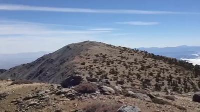 West Baldy, San Gabriel Mountains 9988 feet