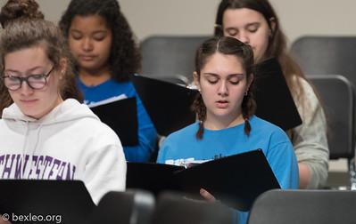 Women's Chorale Rehearsal