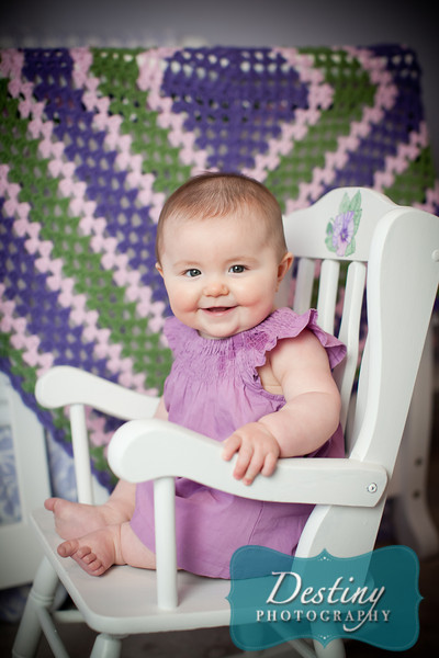 Addie's 6 month Pix