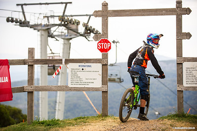 2014 Mt Buller National DH rd 2