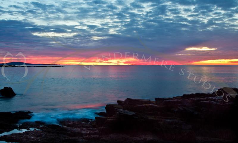 Acadia Day 2: Sunrise Thunder Hole