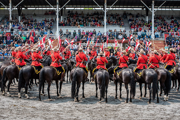 RCMP and Sureté du Québec and their horses 2019