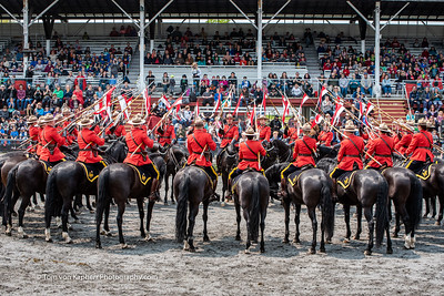 RCMP Musical ride - Brome Fairgrounds