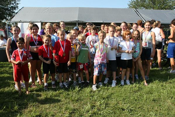 4th YMCA Family Challenge Triathlon 7-26-08