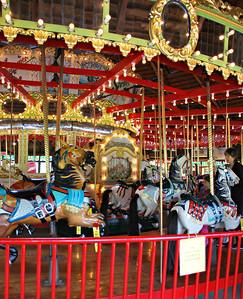 The Bushnell Park Carousel