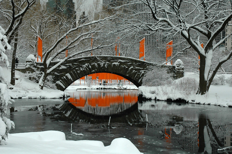 Christo and Jeanne-Claude, The Gates, Central Park, Manhattan