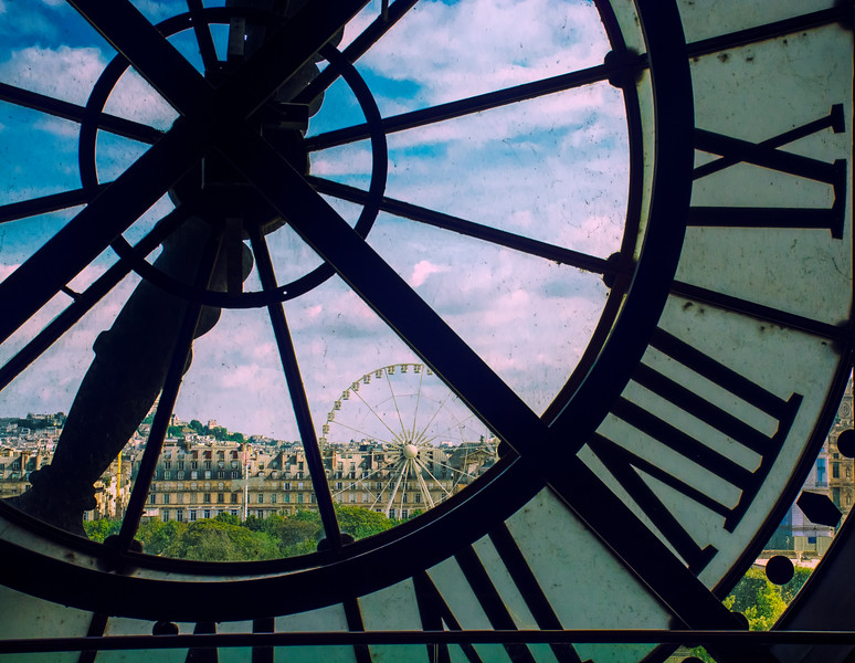 Clock View of Paris
