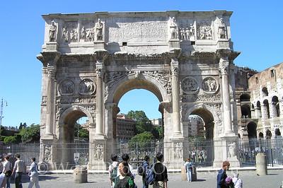 Coliseum, Forum, Palatine Hill