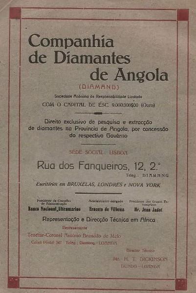 Diamang - 1920s