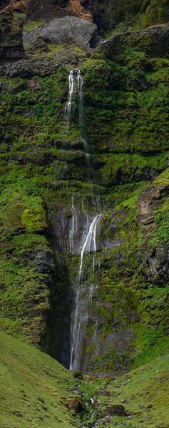 Iceland Three Waterfalls #2. Photography by Wayne Heim