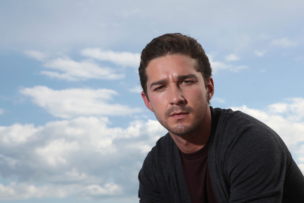 """. Actor Shia LaBeouf poses for a portrait, while promoting \""""Wall Street: Money Never Sleeps\"""", at the at the 63rd international film festival, in Cannes, southern France, Thursday, May 13, 2010. (AP Photo/Mark Mainz)"""