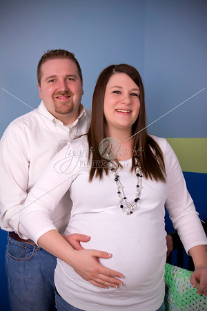 Brittany and Jason Maternity