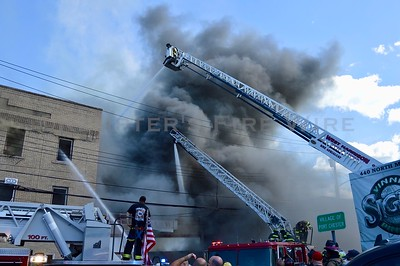 5th Alarm Structure Fire - 455 North Main St, Port Chester NY - 8/30/20