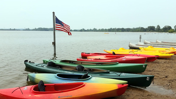 Creve Coeur Lake Kayak, 6-30-15