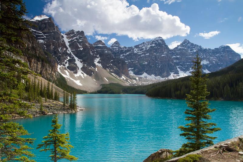 Moraine Lake - Banff National Park - Valley of the Ten Peaks