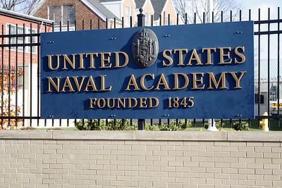 Naval Academy Visit - Dec 2010