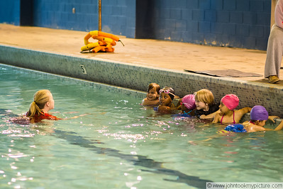 2012 03 Carley Swimming Lessons at YMCA