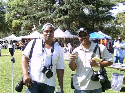 at UC Davis - Black Family Day 2009