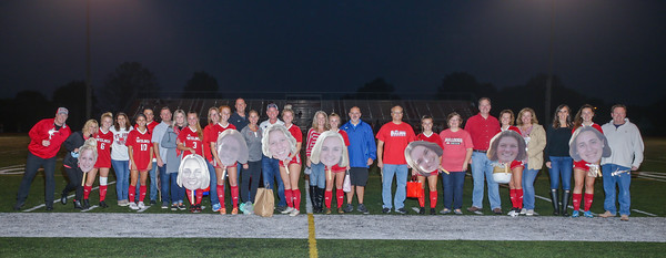 9/26/2020 Wilson Girl's Soccer vs Fleetwood (Senior Night)