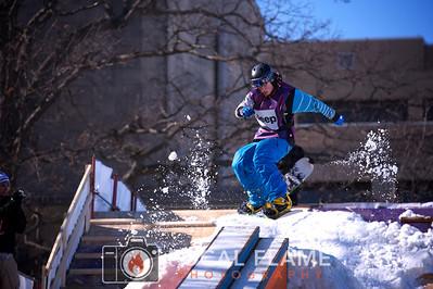 2011 Winterfest Snowboard & Ski Rail Jam comp