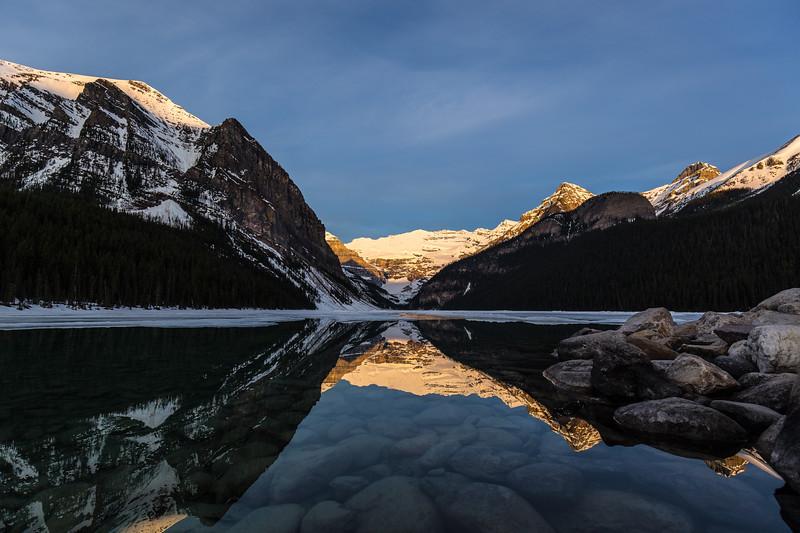 Sun Tipped Peaks