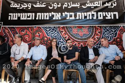 20191104 Arab Israelis Protest Increased Violence