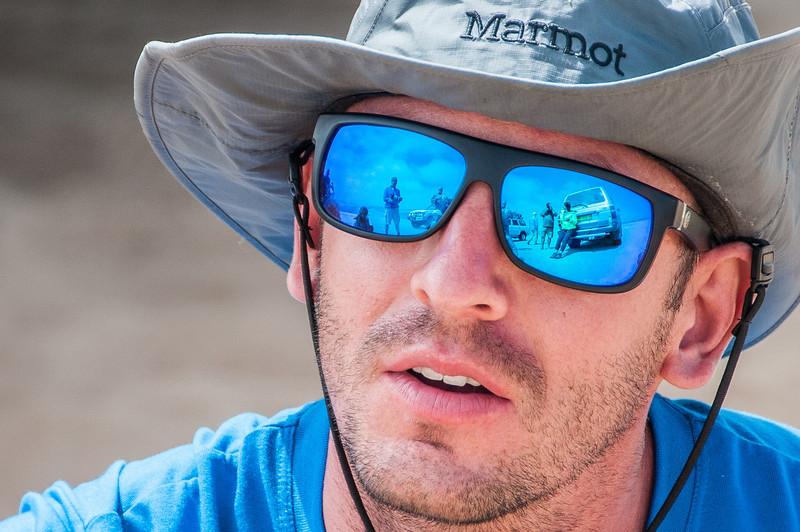 Hanging out at Namib Desert in Namibia