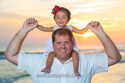 Ellis Family Sunset Photography on Panama City Beach