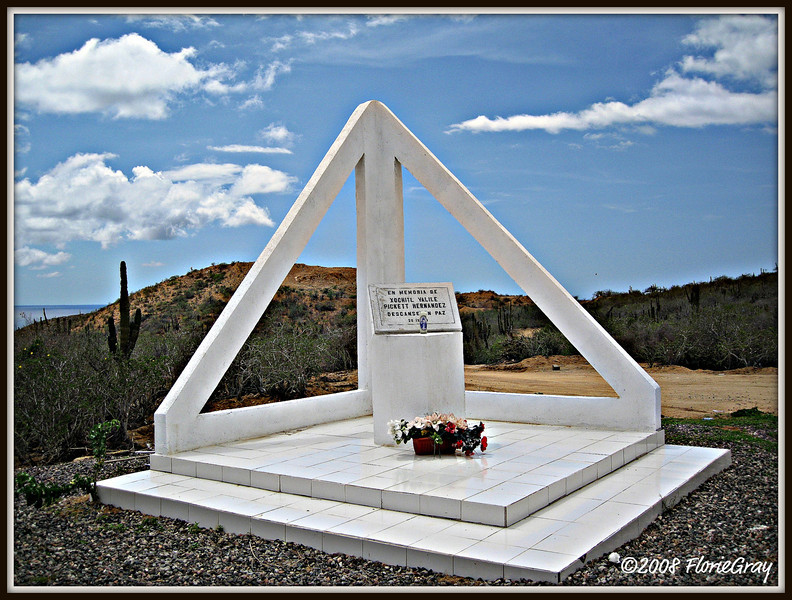 Seaside Memorial, Baja  ©2008 FlorieGray