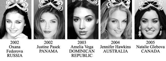 Miss Universe Till 2005