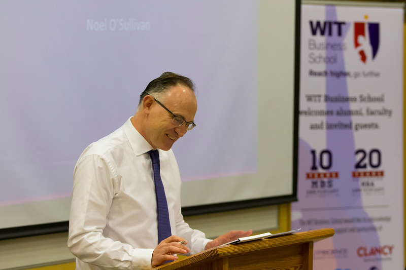 18/05/2016. Irish Accounting & Finance Accociation Annual Conference at WIT (Waterford Institute of Technology). Pictured is Prof Noel O'Sullivan Loughborough University UK. Picture: Patrick Browne