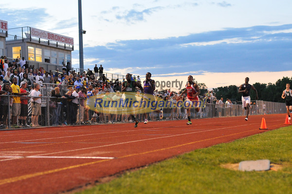 200 Meter Finals - 2012 Oakland County Track Meet