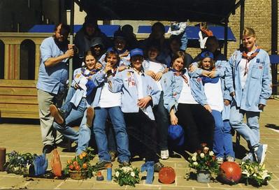 1998-1999 - Activiteit - 10 Jaar Meisjeswerking