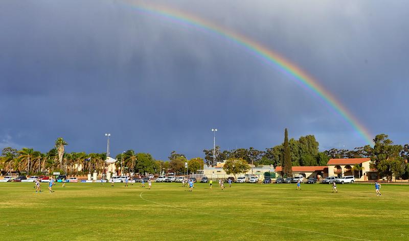 Rainbow over Lakeside Oval Barmera defeat Waikerie