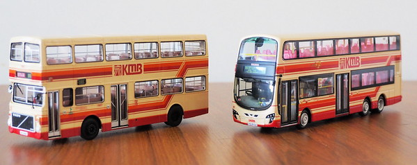 KMB 80th. anniversary models and original livery designs