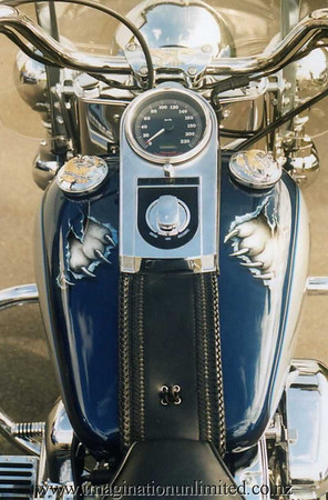 white tiger bike