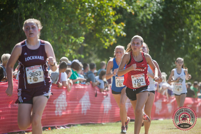 With over 6500 runners and 6000 spectators the 29th Annual Chile Pepper Cross Country Festival raised money for Northwest Arkansas cross country programs. It kicked off on Friday with the Tom Lewis 1 Mile Pepper Dash with runners of all ages participating. Saturday was filled with running from 7:15 a.m. until 3:00 p.m. with a 10k and 5k open, the collegiate men's 10k and women's 5k, high school varsity and open 5k, and closed with the junior high boys and girls 5k events. Throughout the day sponsors such as the Army, the Marine Corps, Lewis Automotive, Jose's, and Rush Running helped keep those in attendance fed and entertained.
