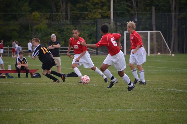 Boys MS Varsity Soccer