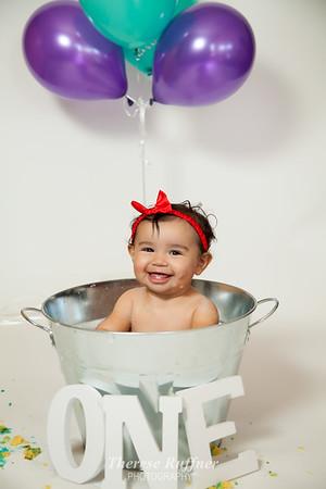 Arya's 1st Birthday