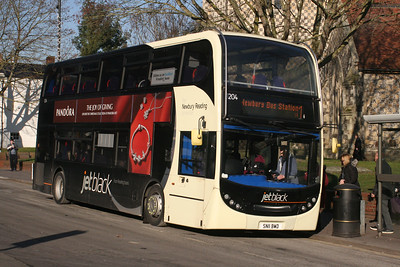 1204, SN11BWD, Reading Buses, St Mary's Butts.