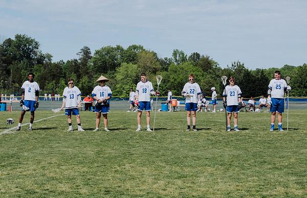 Prep Lacrosse vs. Fluvanna County (Senior Day) - May 12