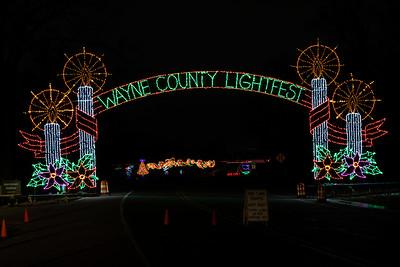 Wayne County Lightfest 2019