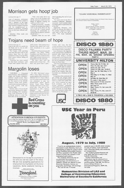 Daily Trojan, Vol. 76, No. 33, March 28, 1979
