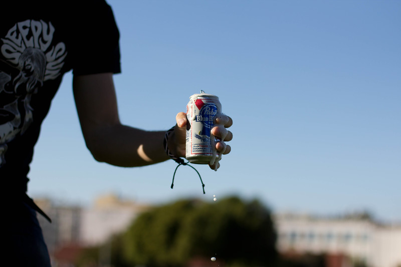 My PBR commercial in Dolores Park #___#*