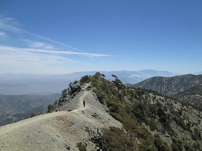 Mount San Antonio, West Baldy, and Mount Harwood