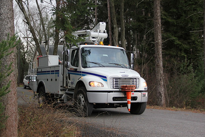 Power Outage, Ben Titus Road, Rush Township (11-24-2012)