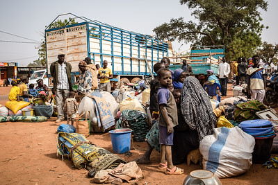 Press album: Global displacement figures 2021
